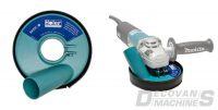 Basic Capot de protection anti-poussière - aluminium - poncer - 125MM