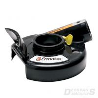 Basic Dust Shroud - Rubber - grinding - 180mm
