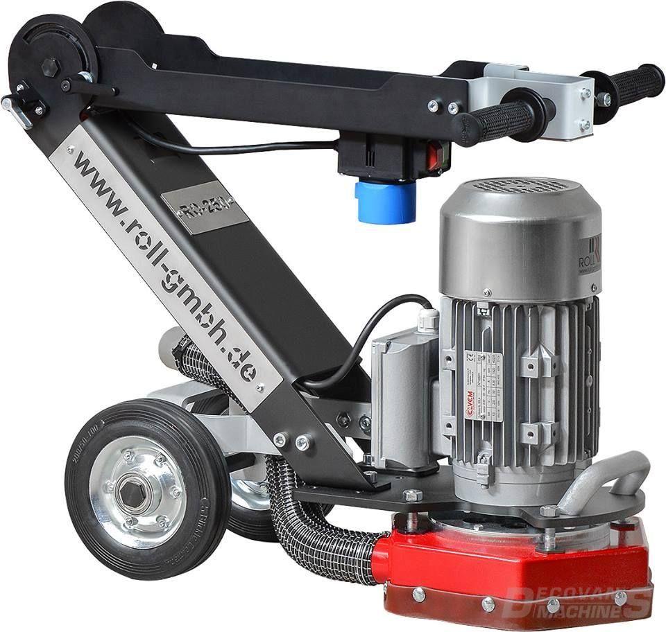 roll ro250 floor grinder 230v