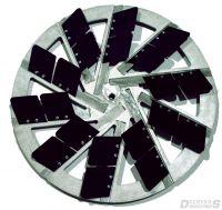 Scanmaskin trowel blades - Hard plastic (grey)