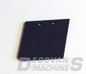 scanmaskin trowel blades hard plastic grey