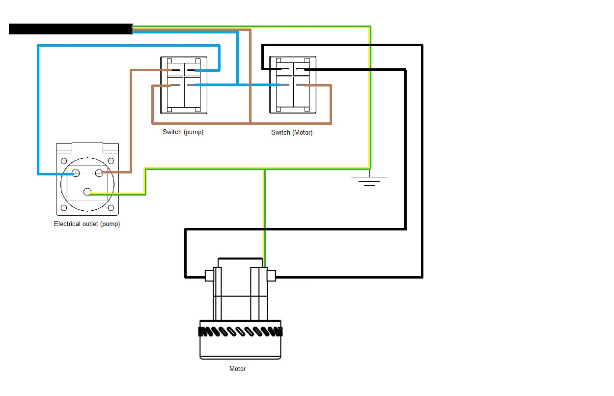 Vacuum Cleaner Motor Wiring Diagram